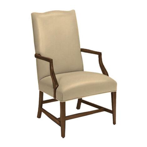 Martha Washington Leather Chair ,  , large