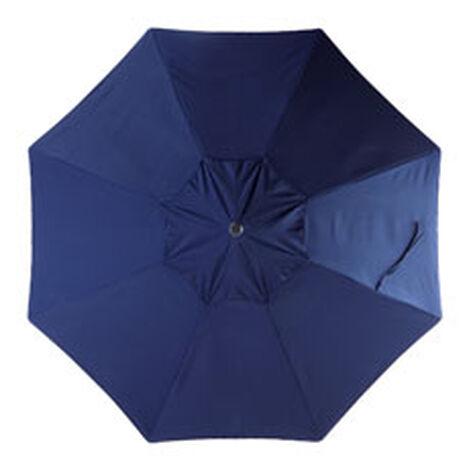 9' Single Vent Navy Umbrella ,  , hover_image