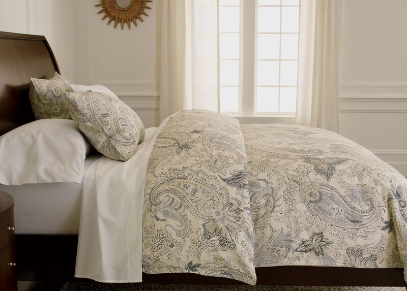 Sydney Paisley Full/Queen Duvet Cover ,  , large_gray