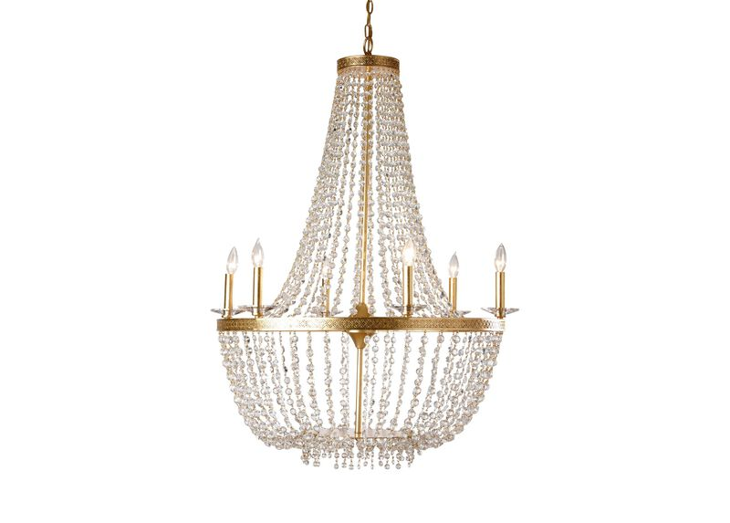 New Regent Gold Chandelier