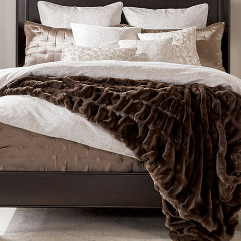 Faux Fur Mink Throw Product Tile Hover Image 031856