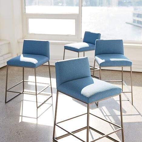 Jewel Metal Base Barstool Product Tile Hover Image 132512