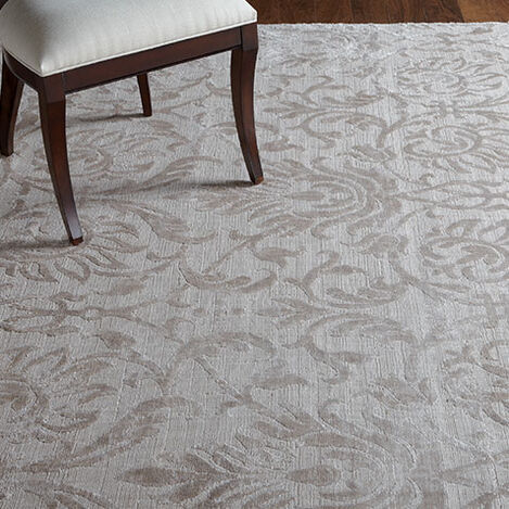 Jacquard Damask Rug, Buff Product Tile Hover Image 041255