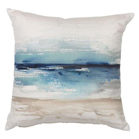 Blue Watercolor Outdoor Pillow Product Tile Image 404704