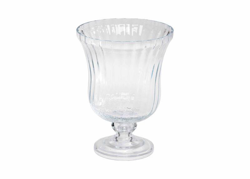Optic Glass Vase ,  , large_gray
