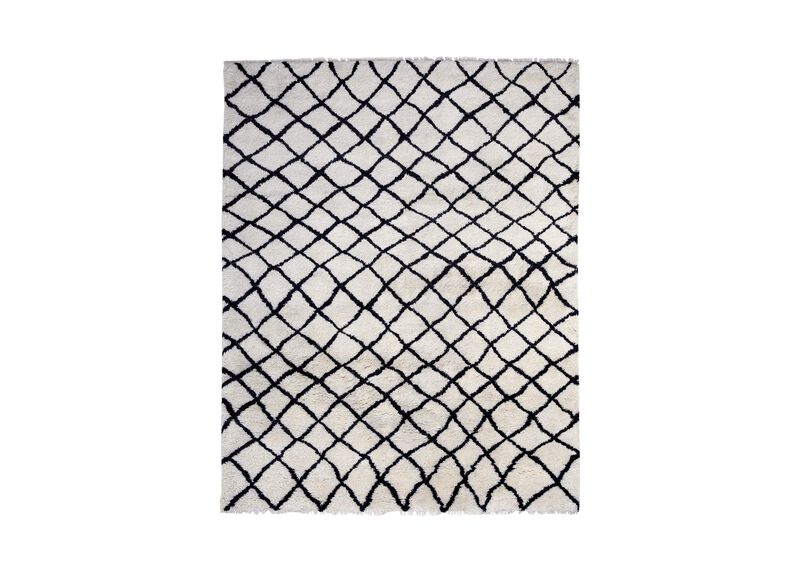 Coaxial Rug, Ivory/Black ,  , large_gray
