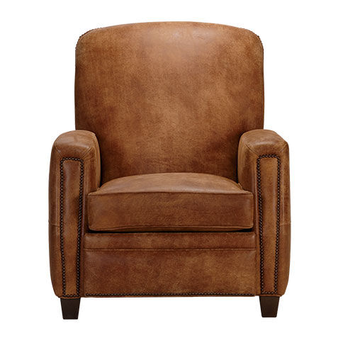 Dean Leather Recliner   large  sc 1 st  Ethan Allen & Shop Recliners | Leather and Fabric Recliner Chairs | Ethan Allen islam-shia.org