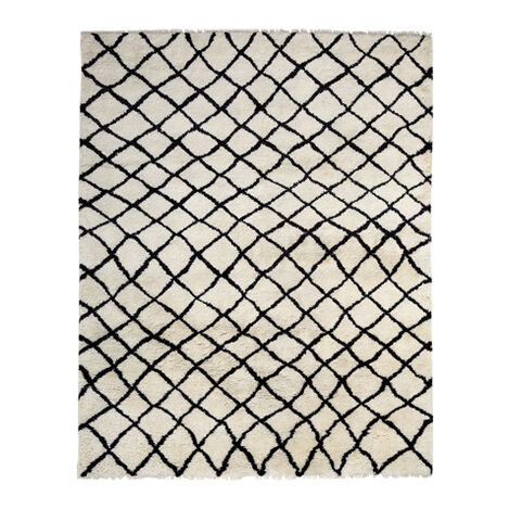 Coaxial Rug, Ivory/Black Product Tile Image 041558