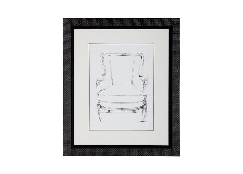 Historic Chair Sketch III ,  , large_gray