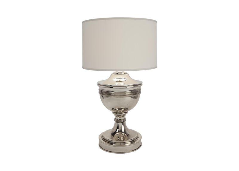 Otis Large Silver Table Lamp