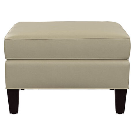 Collin Leather Ottoman ,  , large