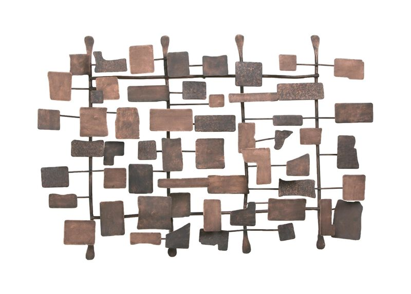 Metal Wall Sculpture ,  , large_gray