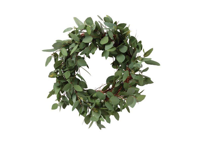"""24"""" Seeded Eucalyptus Wreath"""