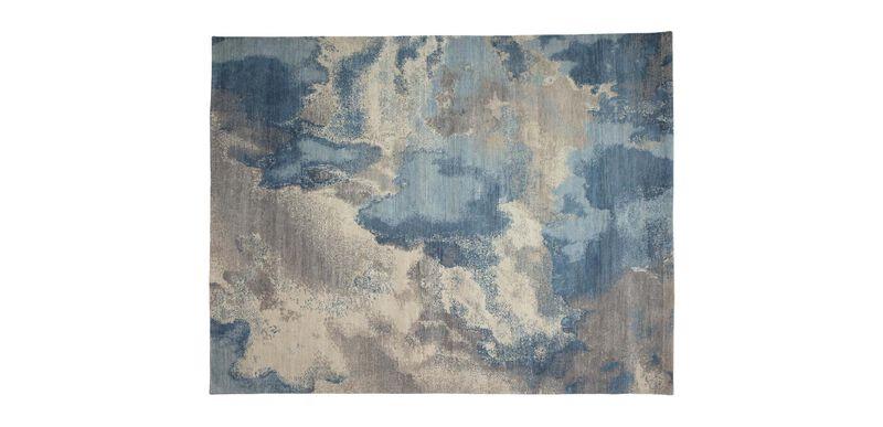 Cloud, Multi/Blue 6 ft. x 9 ft.