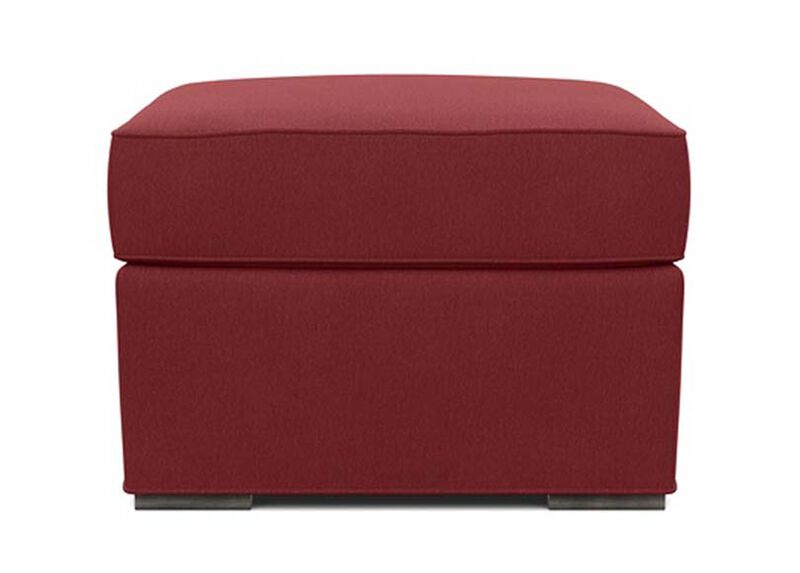 Meeting Place Ottoman , Lucky Denim Red (D1200) , large_gray