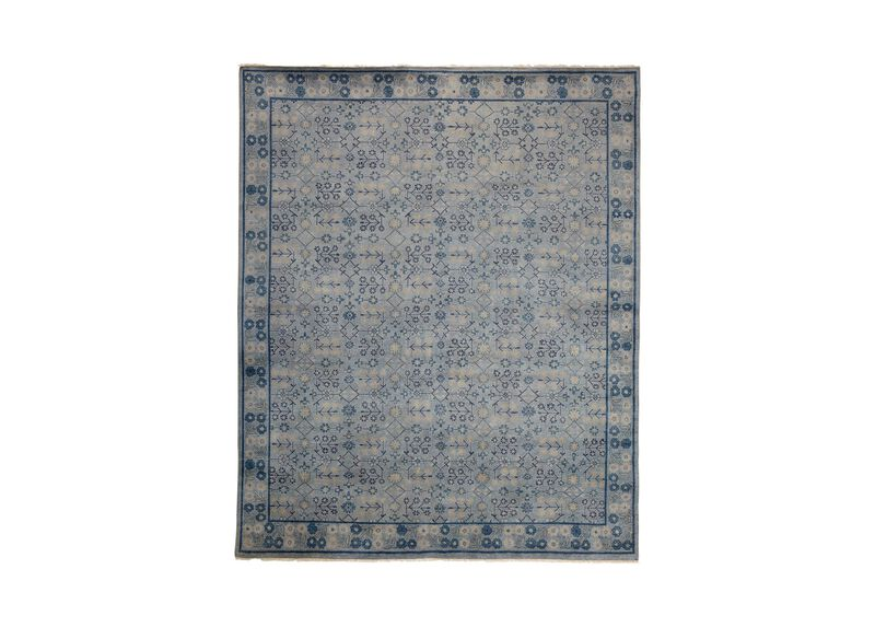 Khotan Rug, Gray/Blue ,  , large_gray
