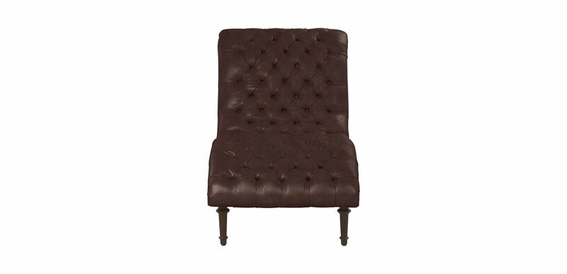 Harlowe Leather Chaise