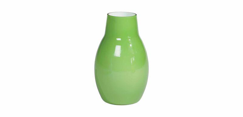 Ensemble Painted Vase, Green