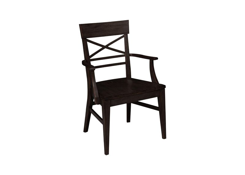 Blake Wood-Seat Armchair | Tuggl
