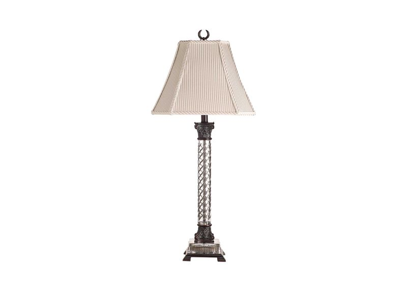 Beauford Bronze Table Lamp