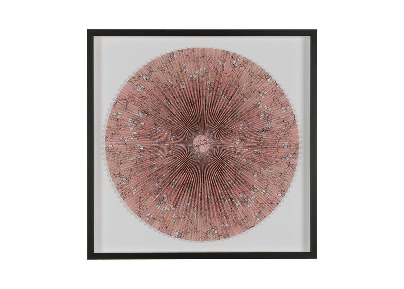 Pink Blossom Fan