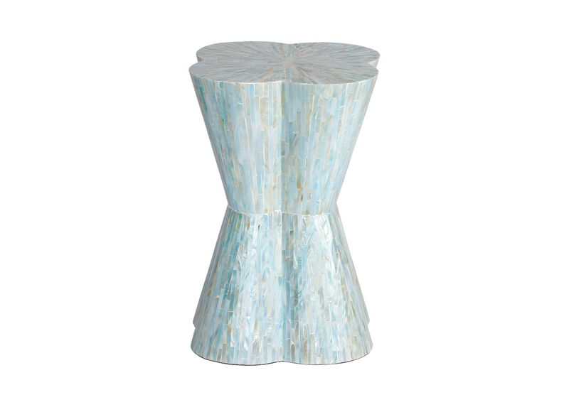 Loren Mother-of-Pearl Stool