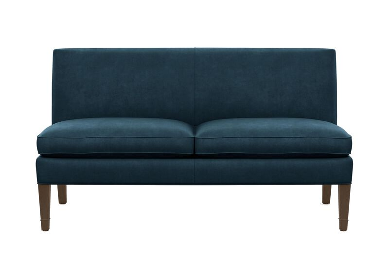 Baldwin Armless Settee ,  , large_gray