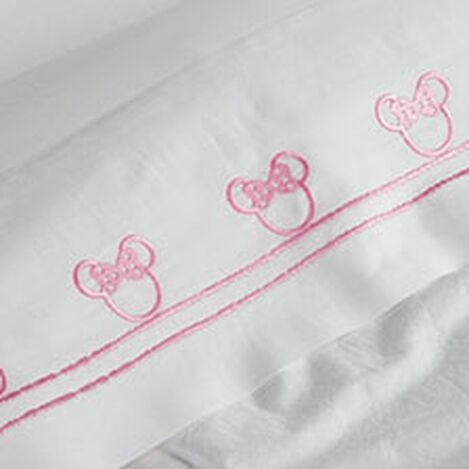 Minnie Mouse Embroidered Sheet Set, Minnie Pink ,  , hover_image