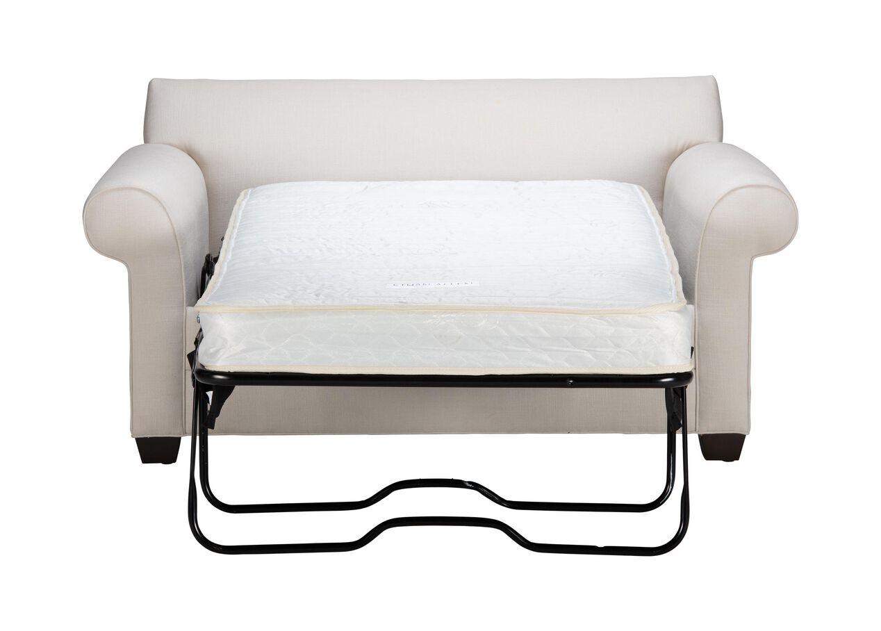 Bennett Roll Arm Chair And A Half Twin Sleeper Ethan Allen