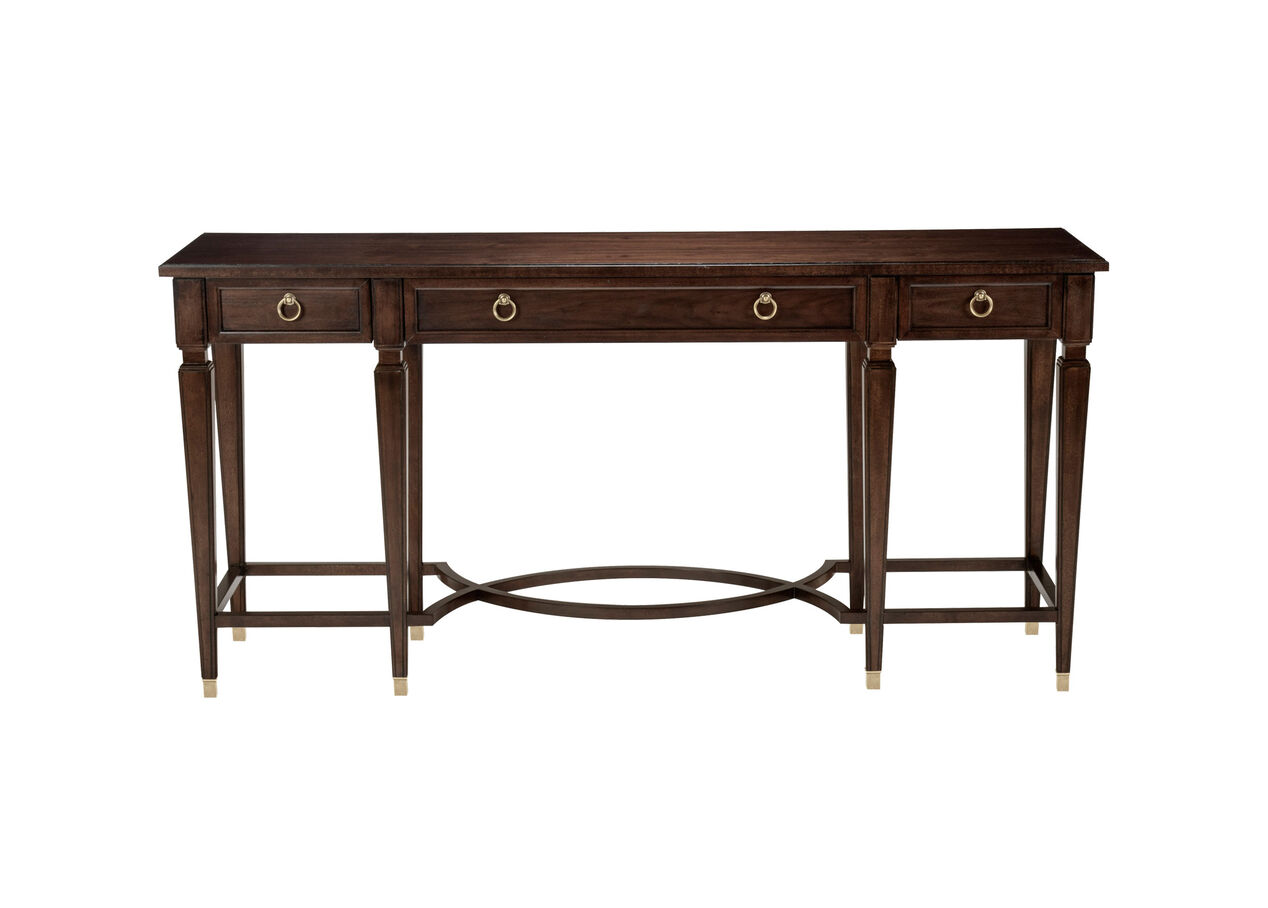 elmont console table console tables ethan allen. Black Bedroom Furniture Sets. Home Design Ideas