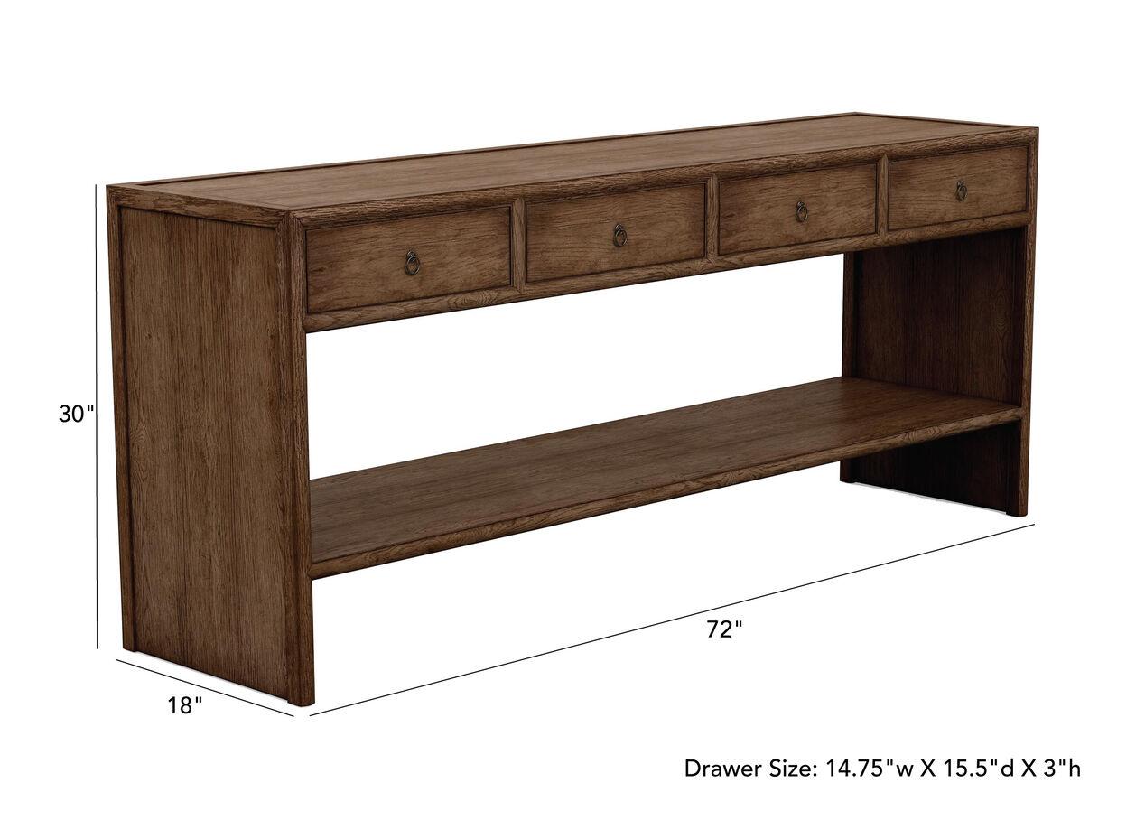 Large Shogun Console Table | Console Tables | Ethan Allen
