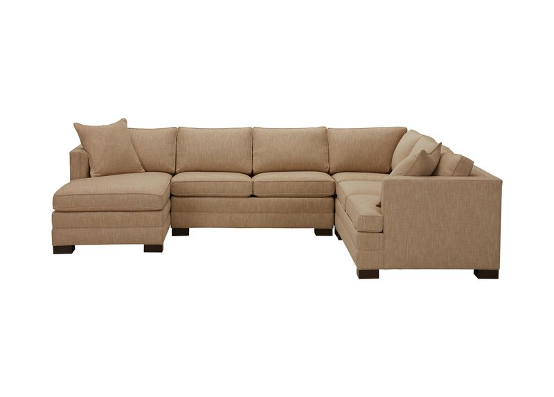 Astor Four-Piece Sectional with Chaise