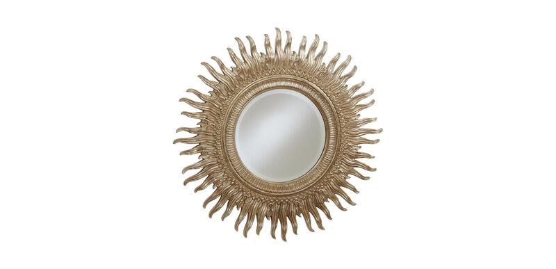 """43"""" Silver Sunburst Mirror"""