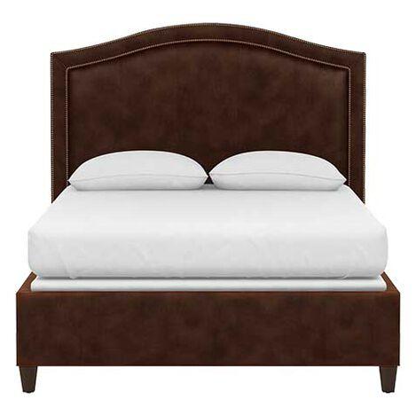 Isabel Leather Platform Bed Product Tile Image 72737G2