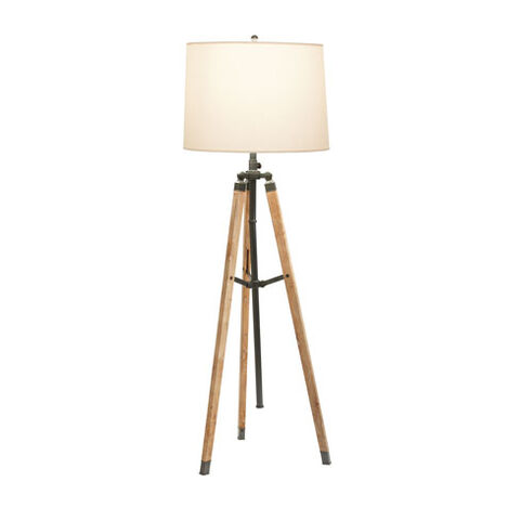 Shop floor lamps lighting collections ethan allen ethan allen surveyors bronze floor lamp large mozeypictures Choice Image