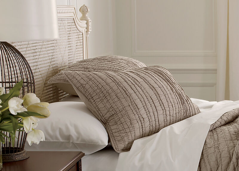 Josette Voile Quilted Sham at Ethan Allen in Ormond Beach, FL | Tuggl