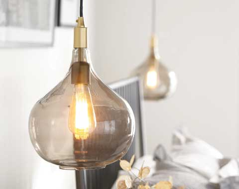 chandelier with bulbs
