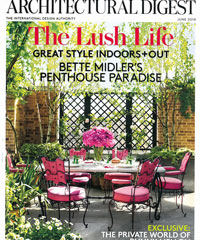 Architectural Digest June 2014