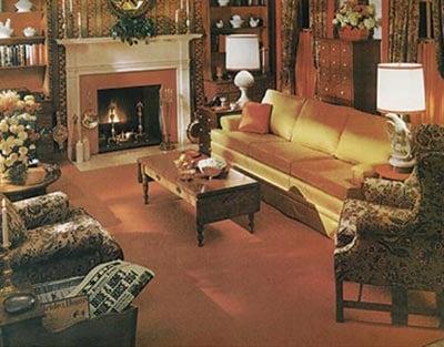 1960s Ethan Allen living room
