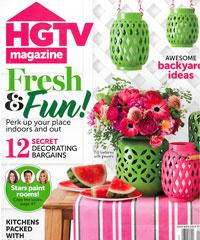 HGTV Magazine August 2014