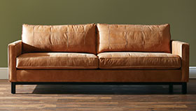 save 25% on leather and quick ship upholstery
