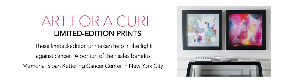 art for a cure - limited edition artwork