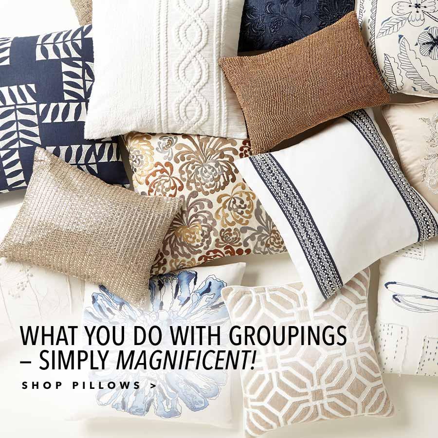 shop new pillows