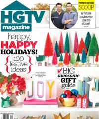HGTV Magazine December 2017