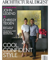 Architectural Digest February 2015