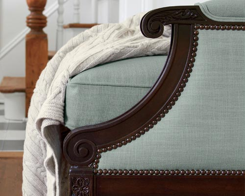 upholstery finish options