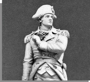 Ethan Allen statue