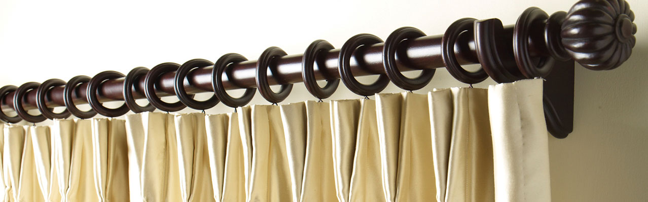 Shop Drapery & Curtain Hardware | Drapery Rods | Ethan Allen