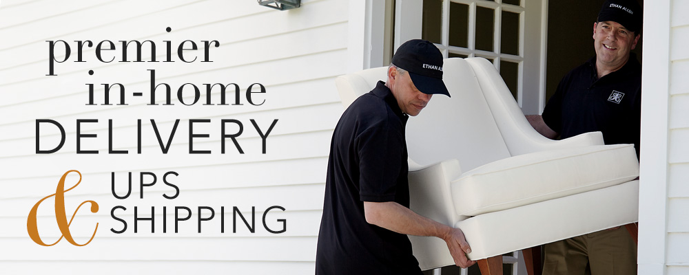 Premier In-Home Delivery & UPS Shipping
