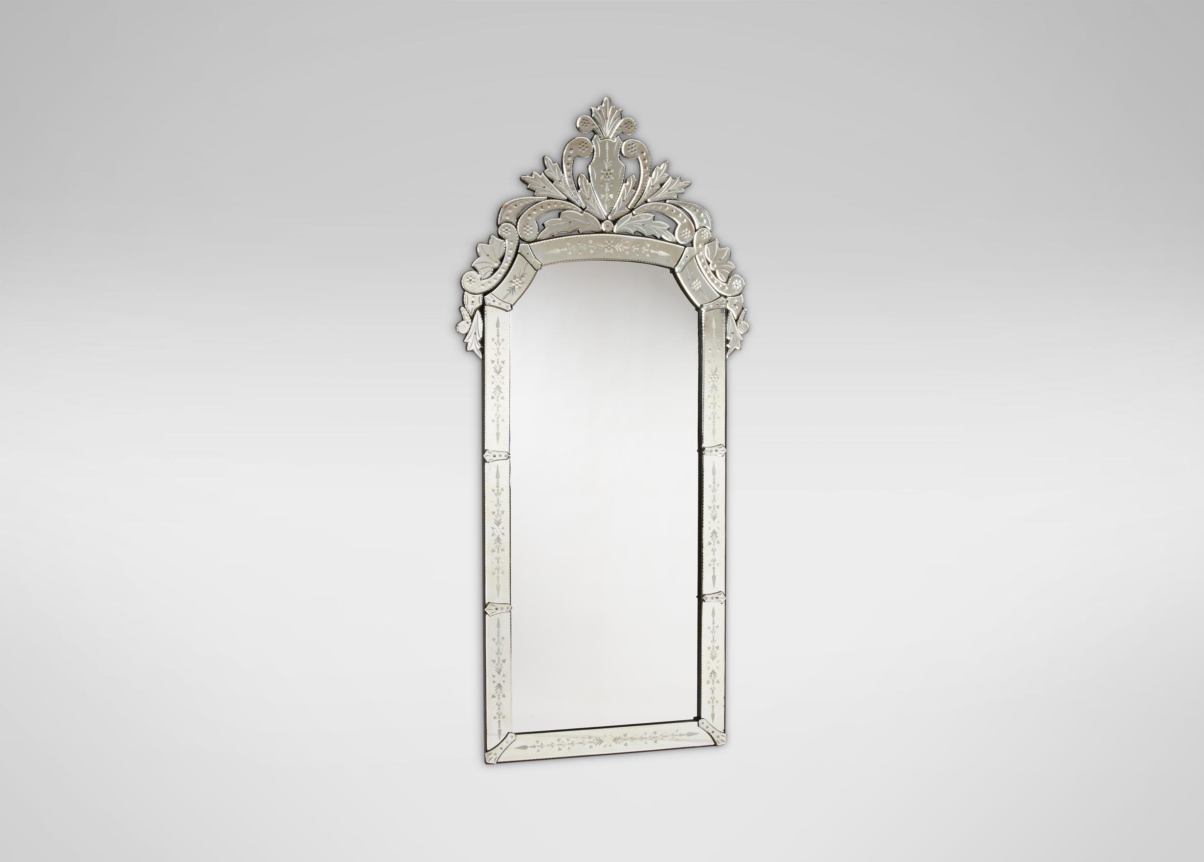 Venetian Floor Mirror - Mirror Designs